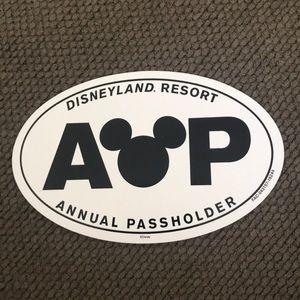 Disneyland Annual Passholder Magnet